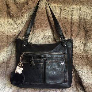 Black Relic Handbag Purse